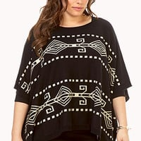 Worldly Poncho Sweater