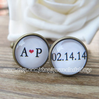 Cufflinks-wedding cufflinks.men cufflinks,Personalized Cufflinks--a best gift for men.