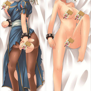 New Chun Li - Street Fighter Anime Dakimakura Japanese Pillow Cover ADP-G078