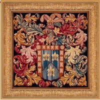 The Heaume  European Tapestry Wall Hanging