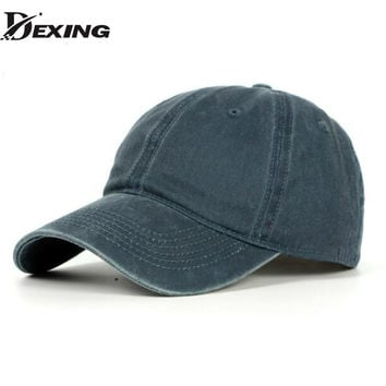 [Dexing] Classic Cotton Dad Hat Adjustable  Baseball Cap men women  Snapback dad hat trucker cap baseball cap