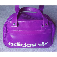 vintage ADIDAS gym bag carry all purse