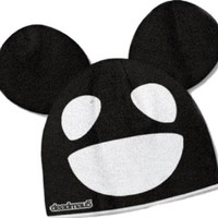 Deadmau5: Black & White Mouse Beanie Hat