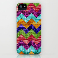 Natural Chevron Flow iPhone & iPod Case by Beth - Paper Angels Photography