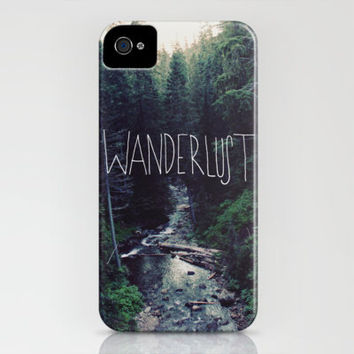 Wanderlust II iPhone Case by Leah Flores | Society6