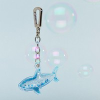 Skinnydip Liquid Shark Keychain at asos.com
