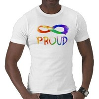 Gay Pride - Forever Proud Tshirt from Zazzle.com