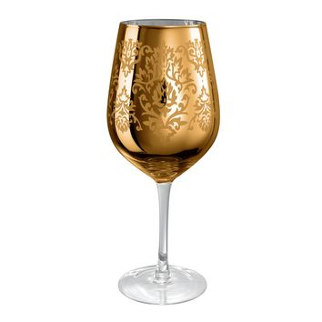Artland Gold Colored Wine Glass - 27oz