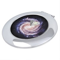 Shine Like a Star in a Diamond Galaxy Space Compact Mirrors