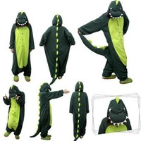 Cute Dinosaur Unisex One Piece Jumpsuit Sleepwear