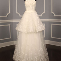 MONIQUE LHUILLIER CRESCENDO WEDDING DRESS