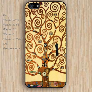iPhone 6 case tree of life stoclet frieze colorful rose iphone case,ipod case,samsung galaxy case available plastic rubber case waterproof B095