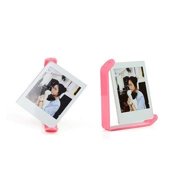 Rotating Photo Frame Fujifilm Instax Square SQ10 Film Holder