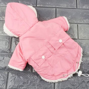 Winter Pet Clothes for Small Dogs