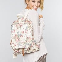 John Galt Floral Backpack