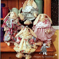 Pattern - Decorative Rabbit and Clothes Simplicity 8205