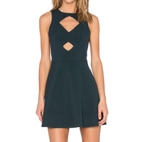 RACHEL ZOE Page Dress in Loden