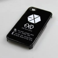 K-pop ALL Stars Iphone Case (exo1)