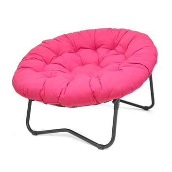 Foldable Oversized Papasan Chair