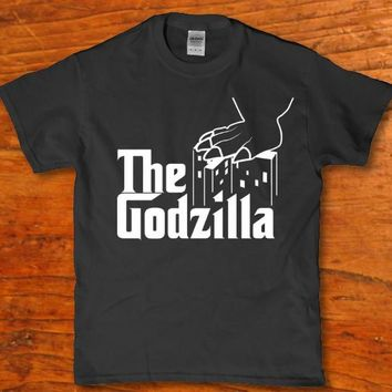 The Godzilla Father awesome Funny Horror t-shirt for Unisex adults