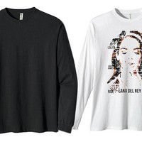 lyrically lana del rey for long sleeves heppy fit & sizing standart us