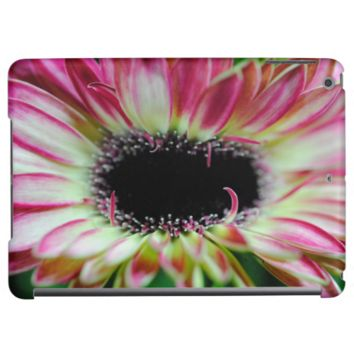 Pink and Cream Gerbera Daisy Unfolding iPad Air Cover