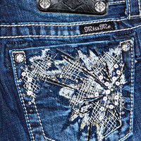 MISS ME OUTBURST BOOTCUT JEANS