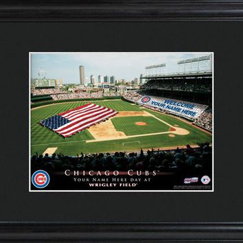 Personalized MLB Stadium Print - Cubs