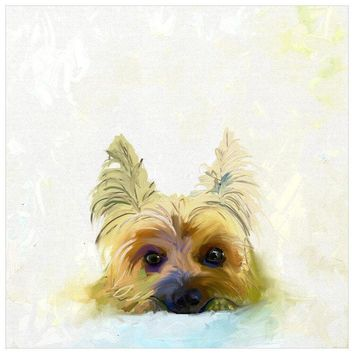 Best Friend - Yorkie Wall Art