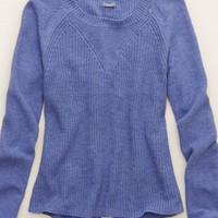 Aerie Women's Split Back Sweater