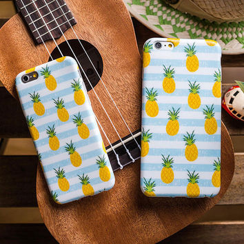 Cute Pineapple iPhone 7 6 6s Plus Case Cover
