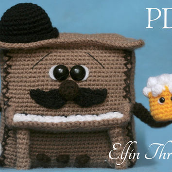 Elfin Thread - Piano Amigurumi Pattern (PDF Instrument  crochet pattern)