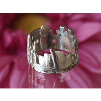 Sydney Cityscape Statement Ring