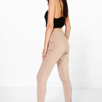 Carmilla Scuba Super Stretch Skinny Trousers | Boohoo