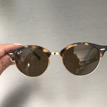 Ray Ban ladies tortoise shell frame sunglasses