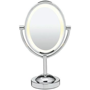 Conair Reflections Double-sided Lighted Oval Mirror (pack of 1 Ea)