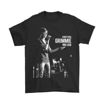 KUYOU Music Christina Grimmie 1994 2016 Shirts