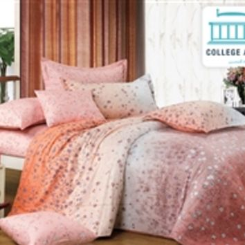 Amber Harvest Twin XL Comforter Set - College Ave Designer Series Dorm Bedding Best Items For College Students
