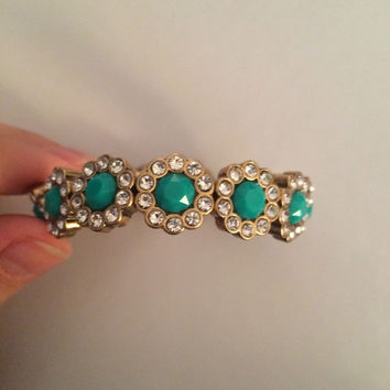 Moving Sale: J.Crew Teal Gem Bracelet (J. Crew)