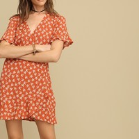 Meadow Drive Floral Dress