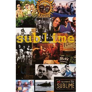 Sublime Band Montage Poster 24x36