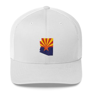 Arizona - State Flag Outline Hat