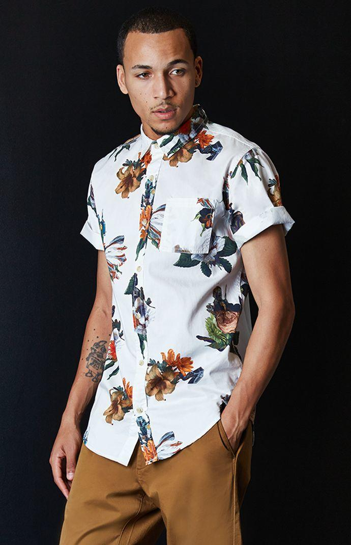On The Byas - Star Wars Floral Woven from PacSun