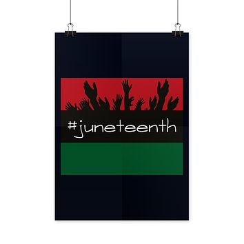 Juneteenth Poster Black Freedom Poster
