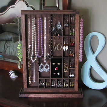 Table Top Jewelry Box by BlackForestCottage on Etsy