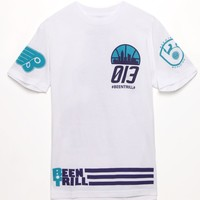 Been Trill Flame T-Shirt - Mens Tee - White