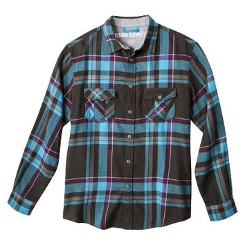 Mossimo Supply Co. Men's Flannel Button Down - Assorted Colors