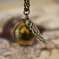 Harry Potter Golden Snitch Locket