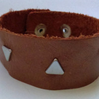 Copper Braclet with Studs