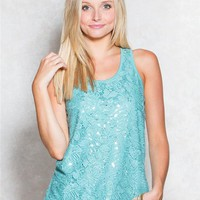 Crochet Sequin Basic